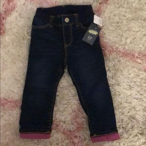 babyGap Toddler Denim - NWT. Lined. Size 3T